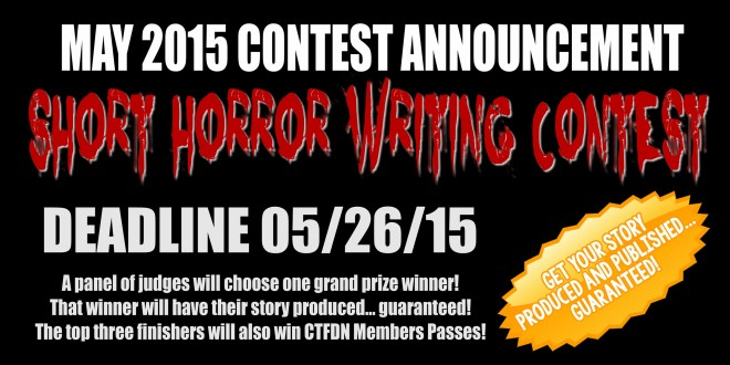 may 2015 short horror writing contest announced may 5 2015 in ...