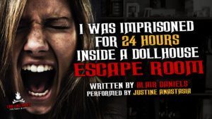 """I Was Imprisoned For 24 Hours Inside a Dollhouse Escape Room"" by Blair Daniels - Performed by Justine Anastasia"