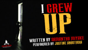 """""""I Grew Up"""" by Samantha Miyake - Performed by Justine Anastasia"""
