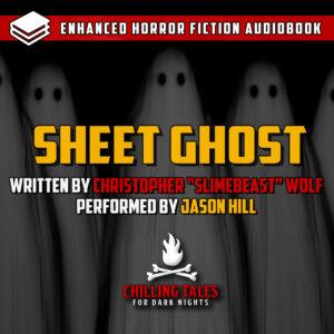 """Sheet Ghost"" by Christopher Howard Wolf (a.k.a. Slimebeast) (feat. Jason Hill)"
