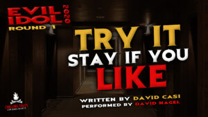 """""""Try It Stay If You Like"""" by David Casi - Performed by David Nagel (Evil Idol 2020 Contestant #27)"""